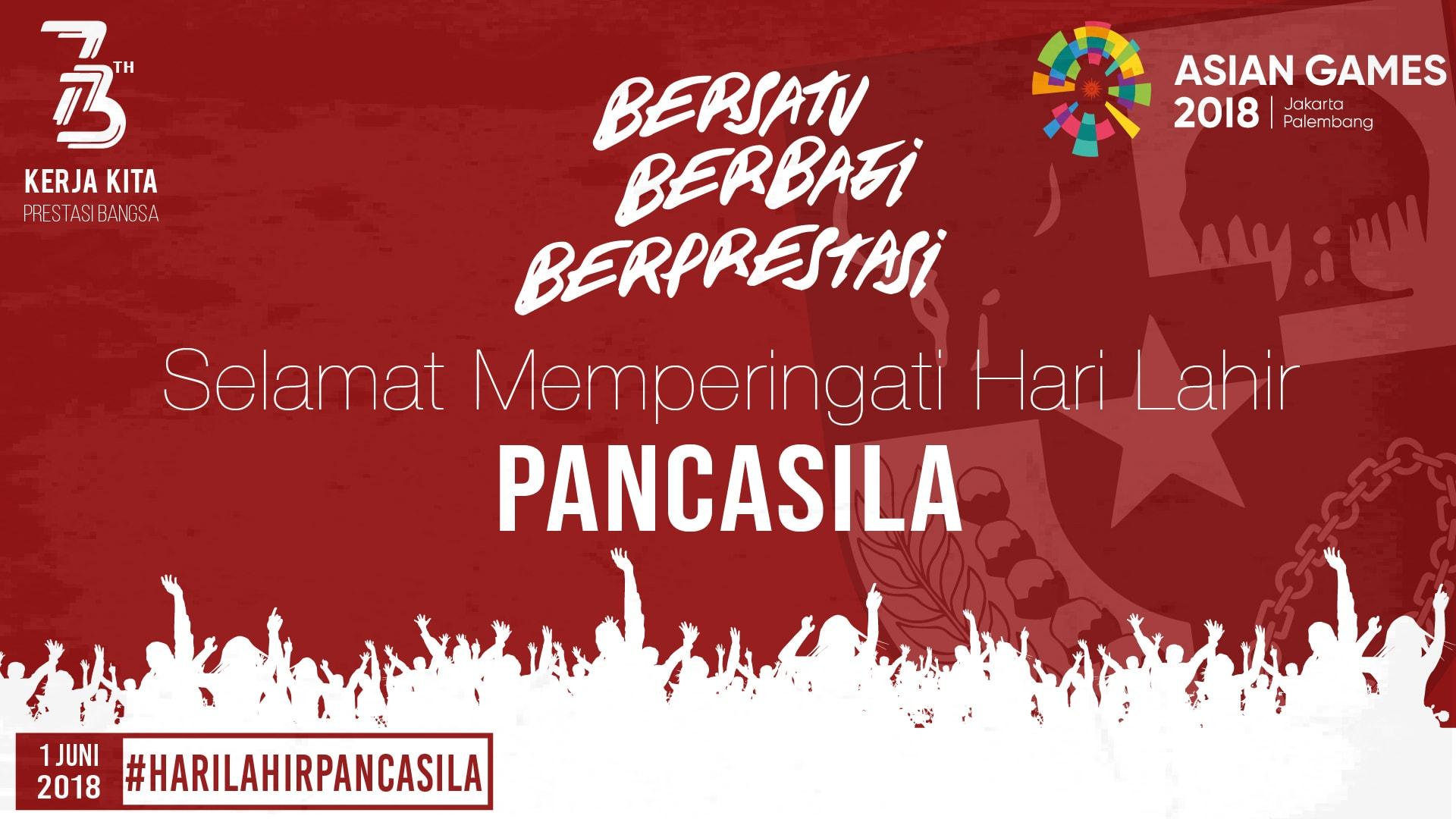 Hari Lahir Pancasila, Menko Maritim Berpesan Jadikan Pancasila Sebagai Ideologi Nasional