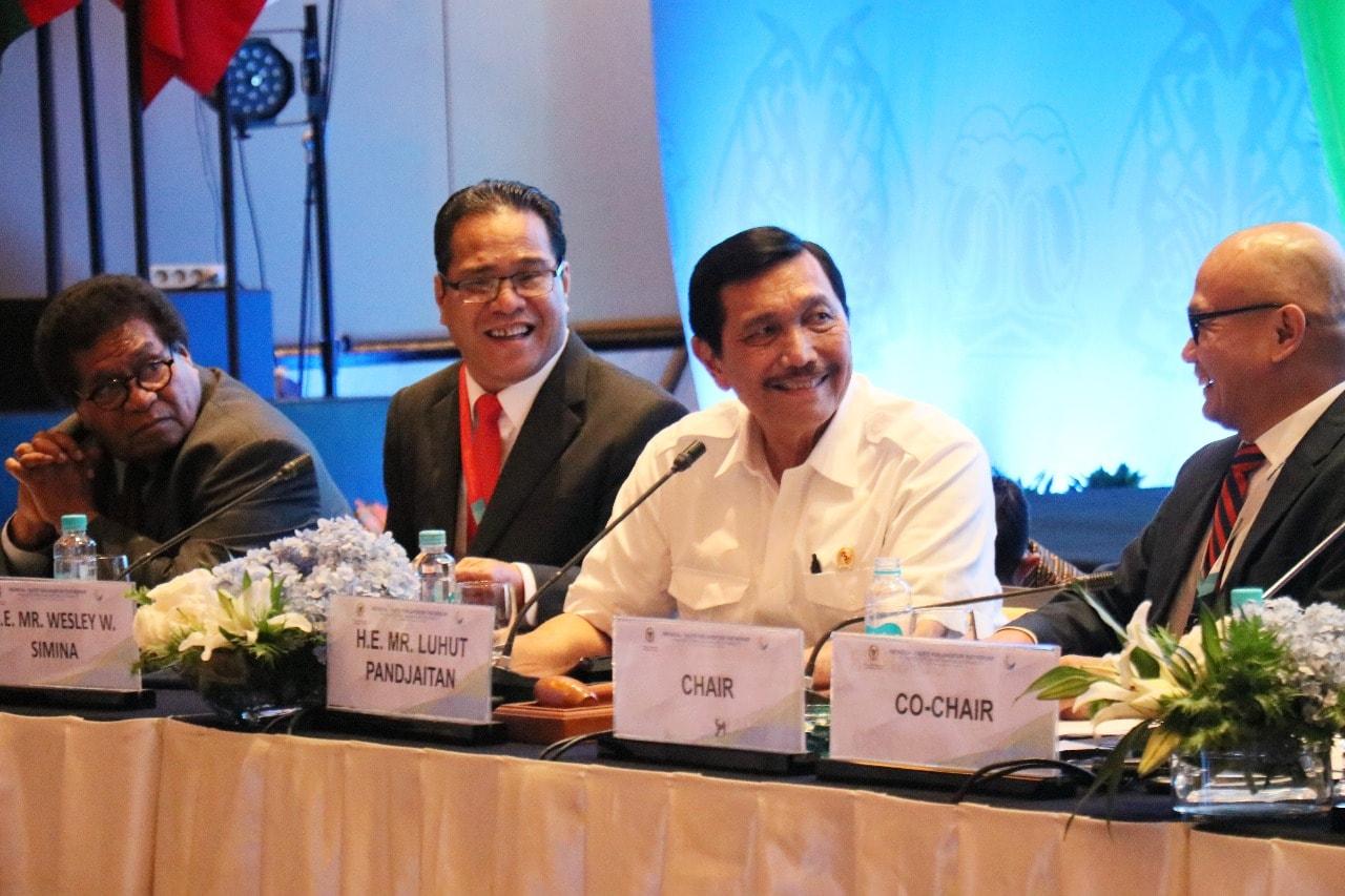 Menko Luhut Menjadi Pembicara di Sidang Indonesia-Pacific Parliamentary Partnership