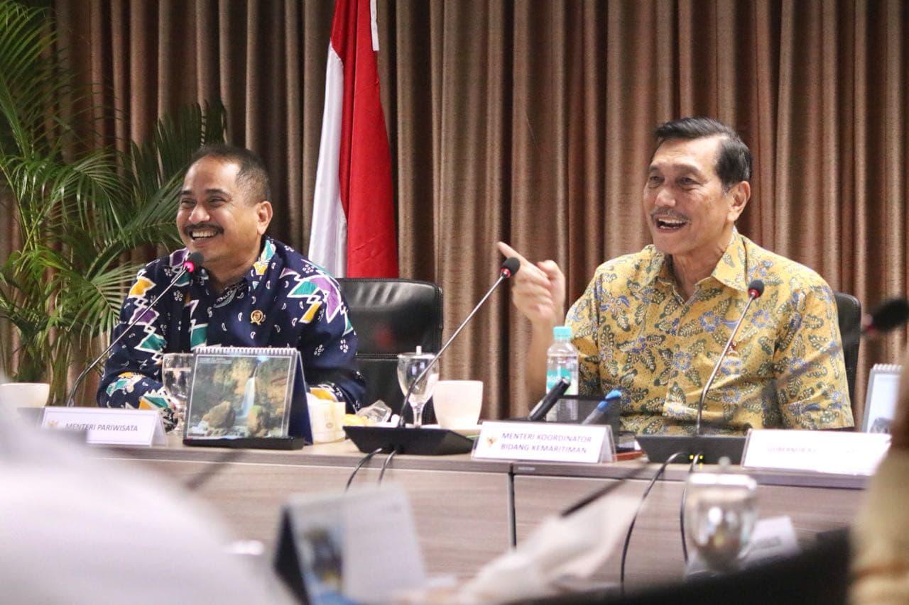 Menko Maritim Adakan Rakor Percepatan Pembangunan Sektor Pariwisata untuk Tingkatkan Devisa Negara