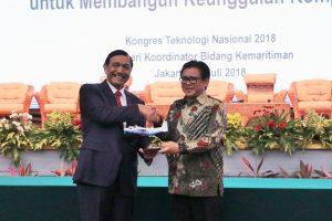Menko Bidang Kemaritiman Menghadiri Konferensi Teknologi Nasional 2018