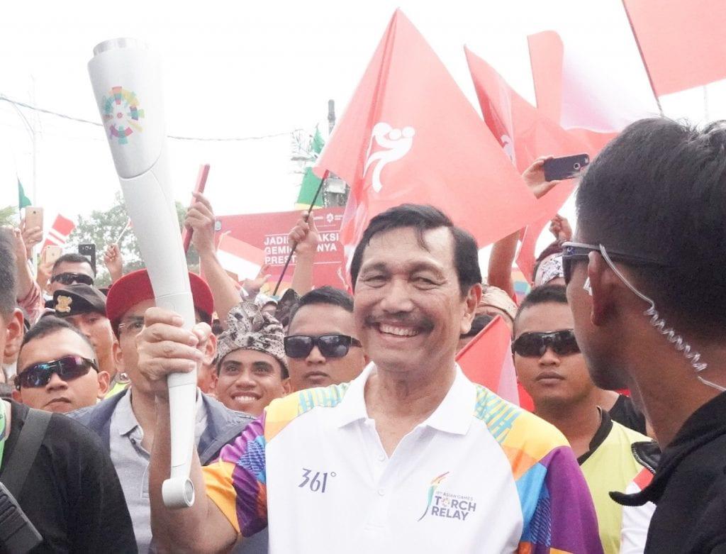 """Menko Luhut : """"Indonesia bisa masuk 10 besar Asian Games"""""""