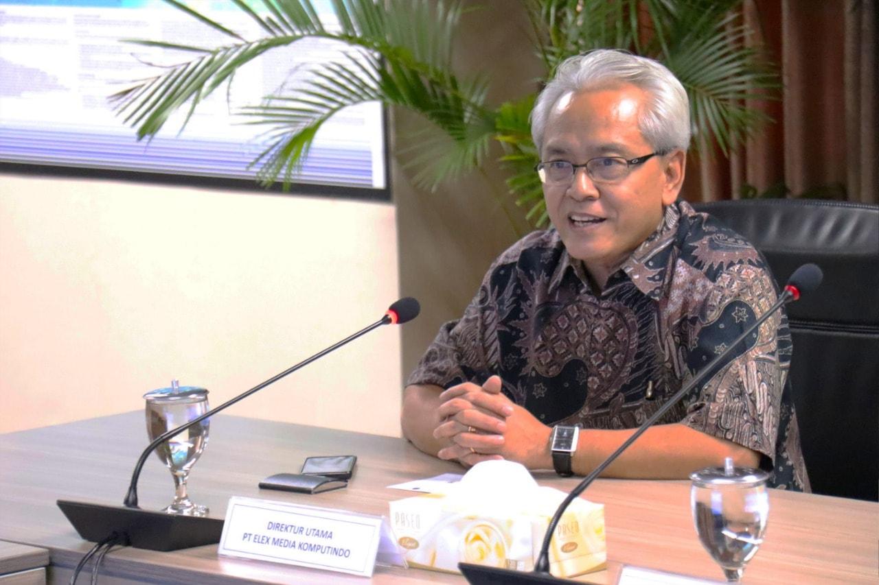 Penandatanganan Kesepahaman dan Kerja Sama antara Kemenko Bidang Kemaritiman dengan PT Elex Media Komputindo