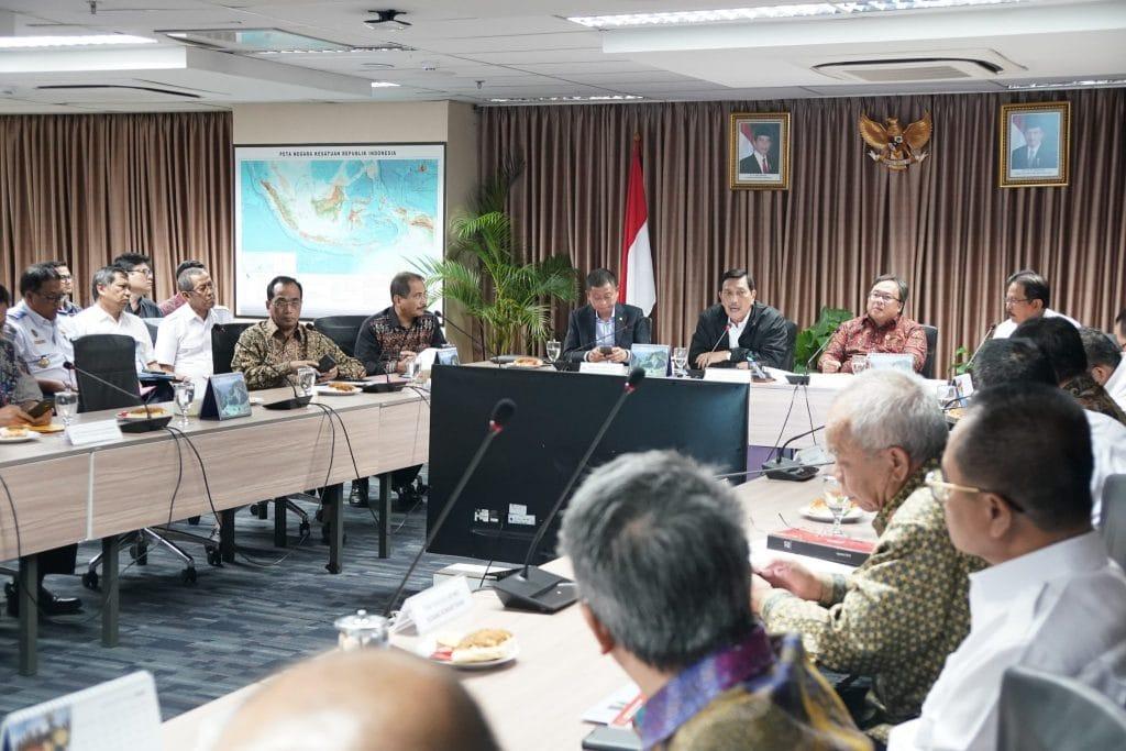Rapat Koordinasi tentang Percepatan Pembangunan di Jawa Barat Bagian Selatan