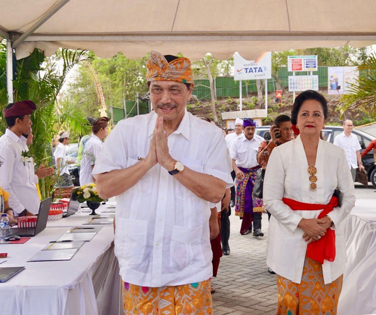 Menko Luhut: Presiden Resmikan Patung GWK pada September