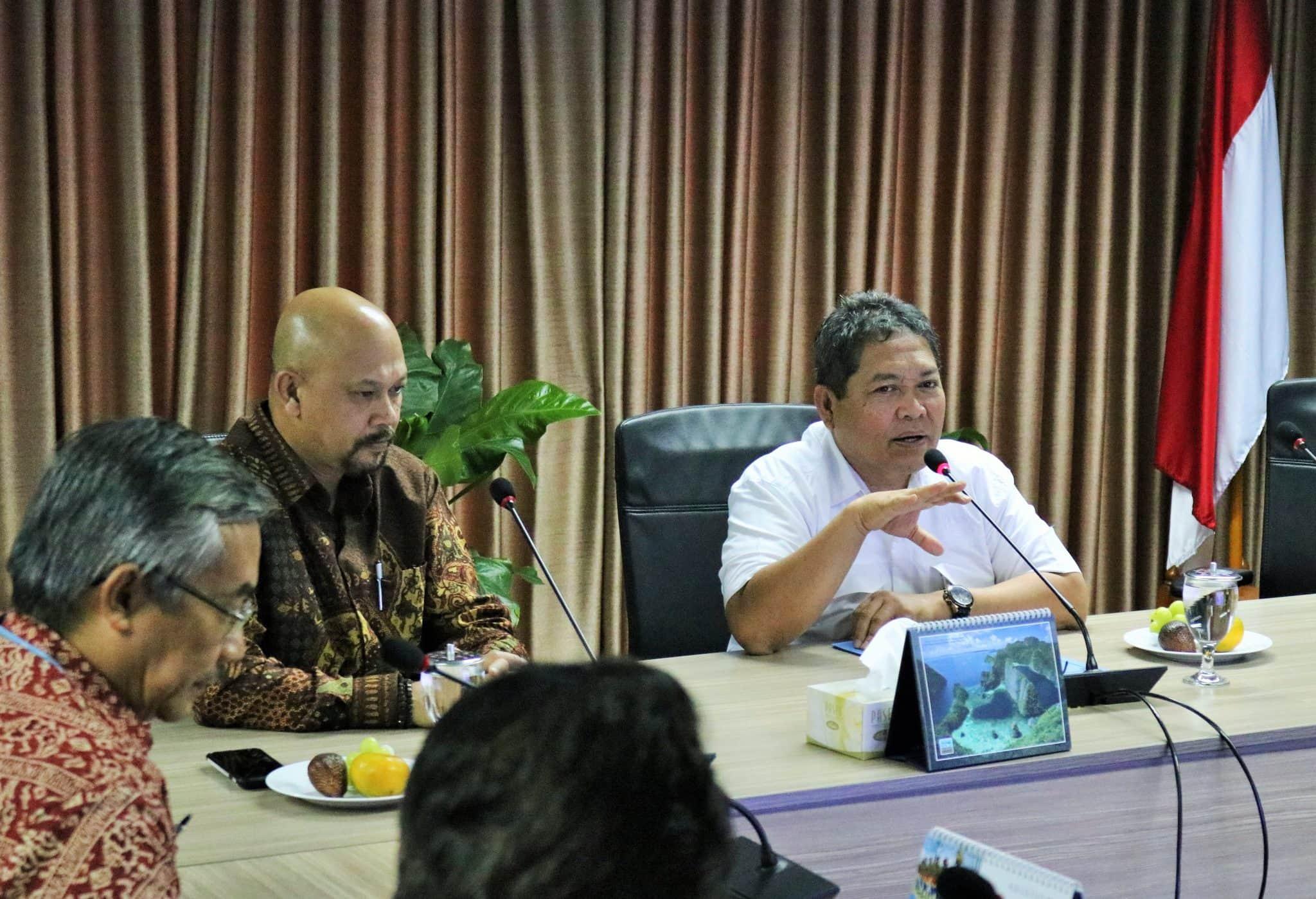 Deputi Safri Pimpin Rakor Pembangunan Pusat Data Kelautan Nasional di Kantor Maritim