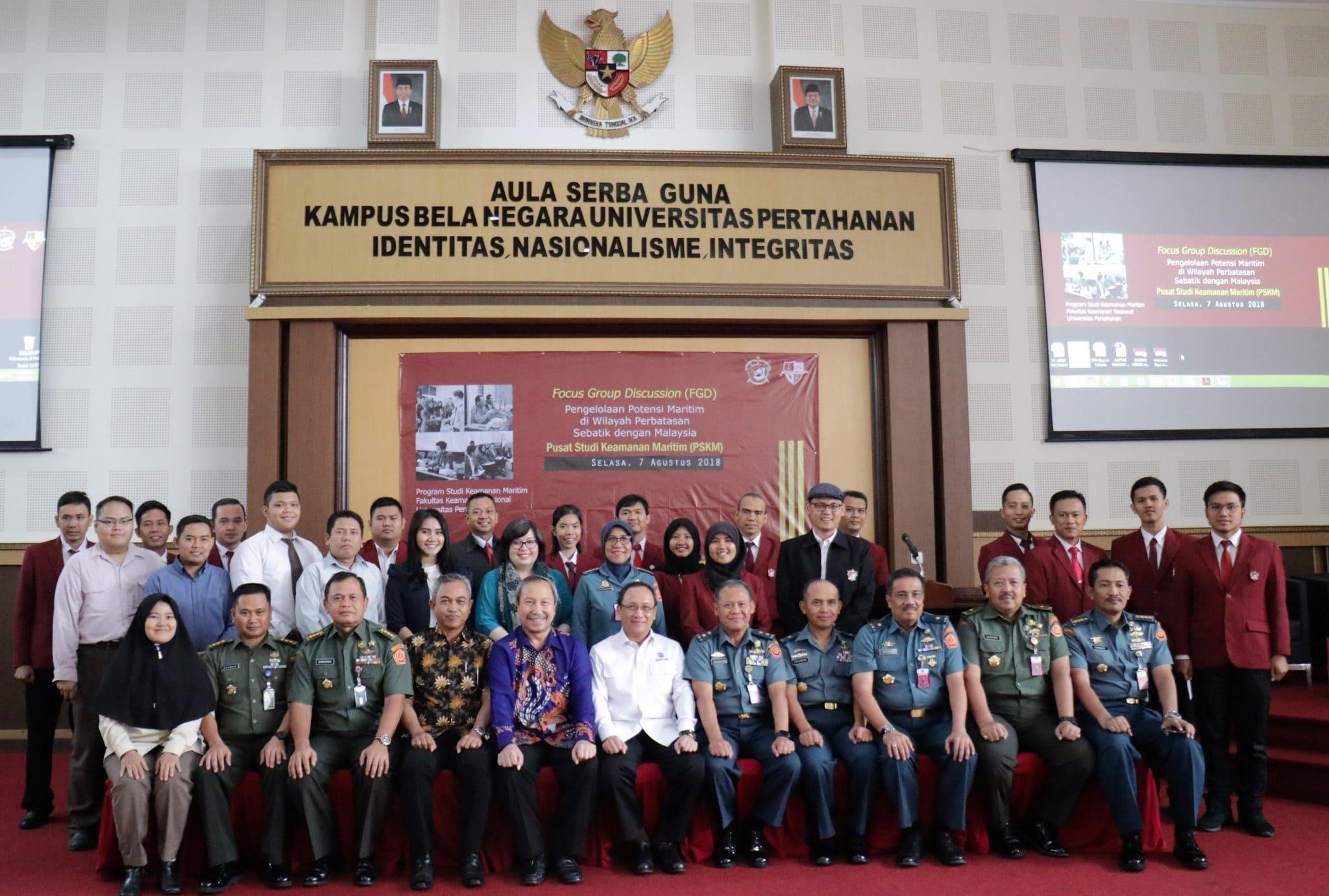 """Sesmenko Agus Purwoto menghadiri Kegiatan Focus Group Discussion (FGD) """"Pengelolaan Potensi Maritim di wilayah perbatasan Sebatik dengan Malaysia"""""""
