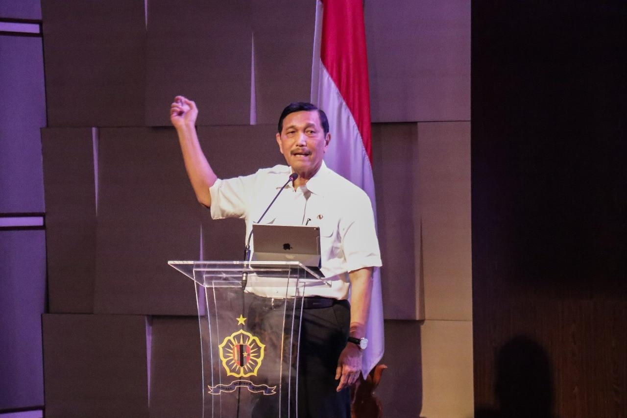 Menko Luhut Menghadiri Undangan Sebagai Penceramah Peserta PPRA LVII dan PPRA LVIII Tahun 2018 Lemhanas RI
