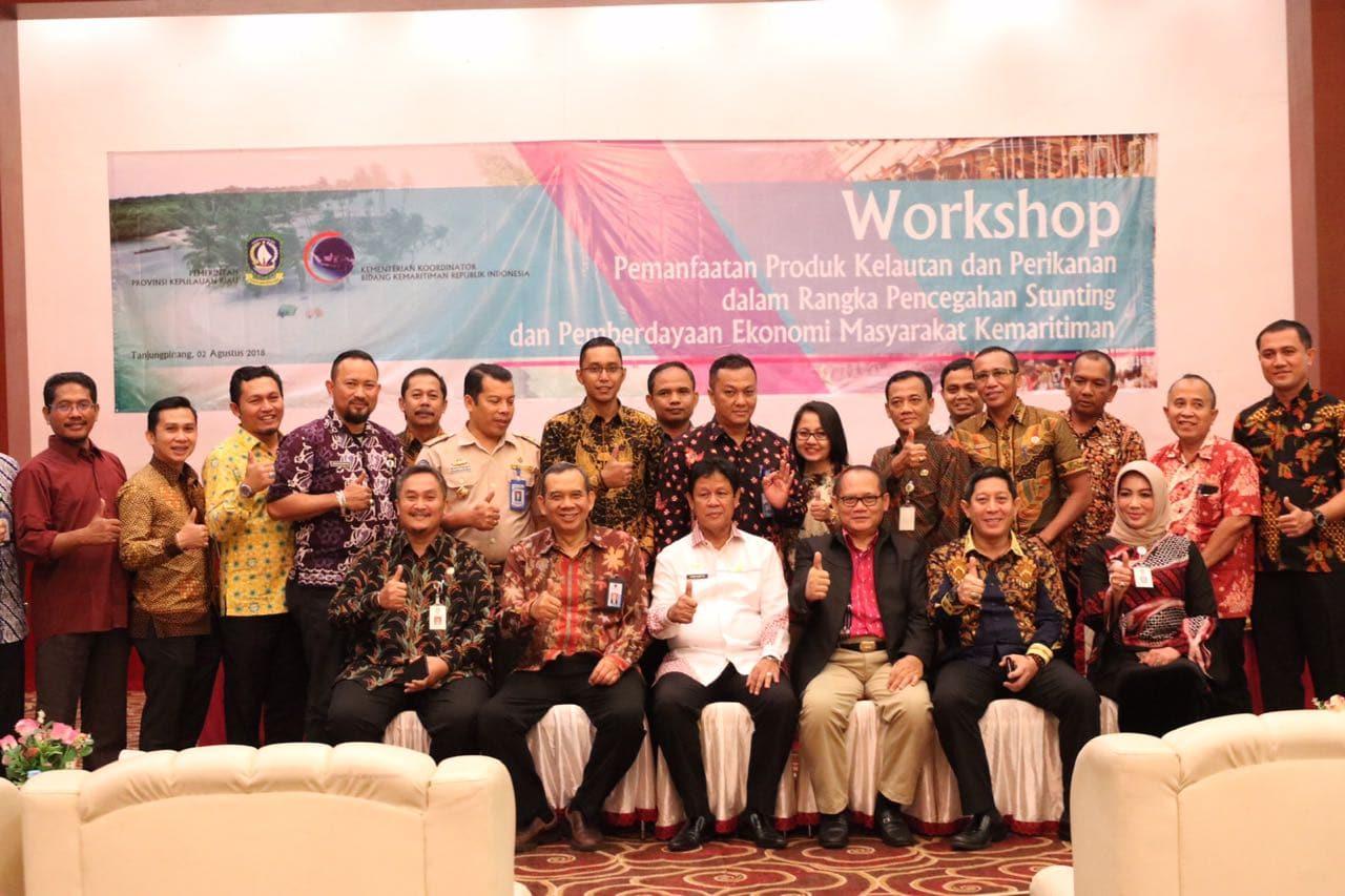 Workshop Pemanfaatan Produk Kelautan dan Perikanan Dalam Rangka Pencegahan Stunting dan Pemberdayaan Ekonomi Masyarakat