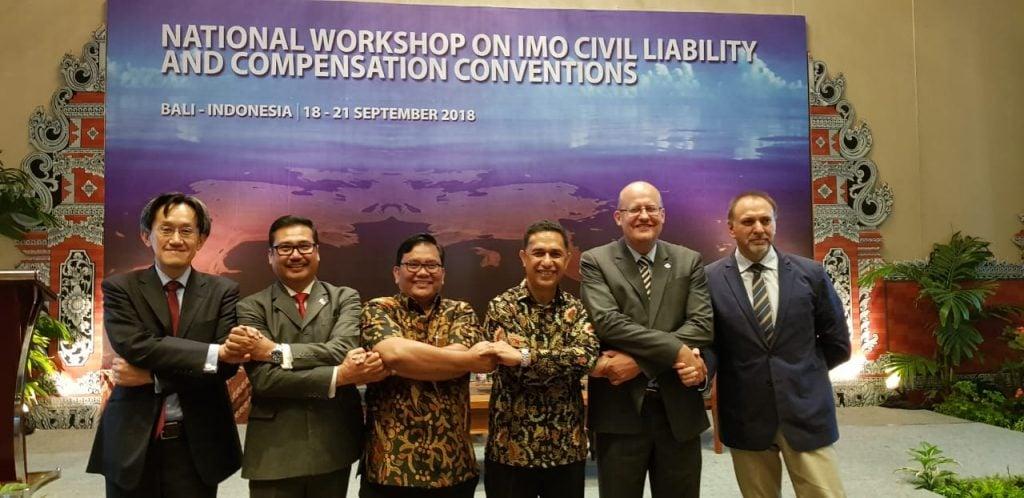 Kemenko Kemaritiman Gandeng IMO Tingkatkan Kapasitas Tangani Kasus Tumpahan Minyak dan Tabrakan Terumbu Karang
