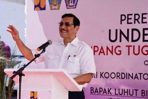 Menteri Koordinator Bidang Kemaritiman Meresmikan Underpass Simpang Tugu Ngurah Rai