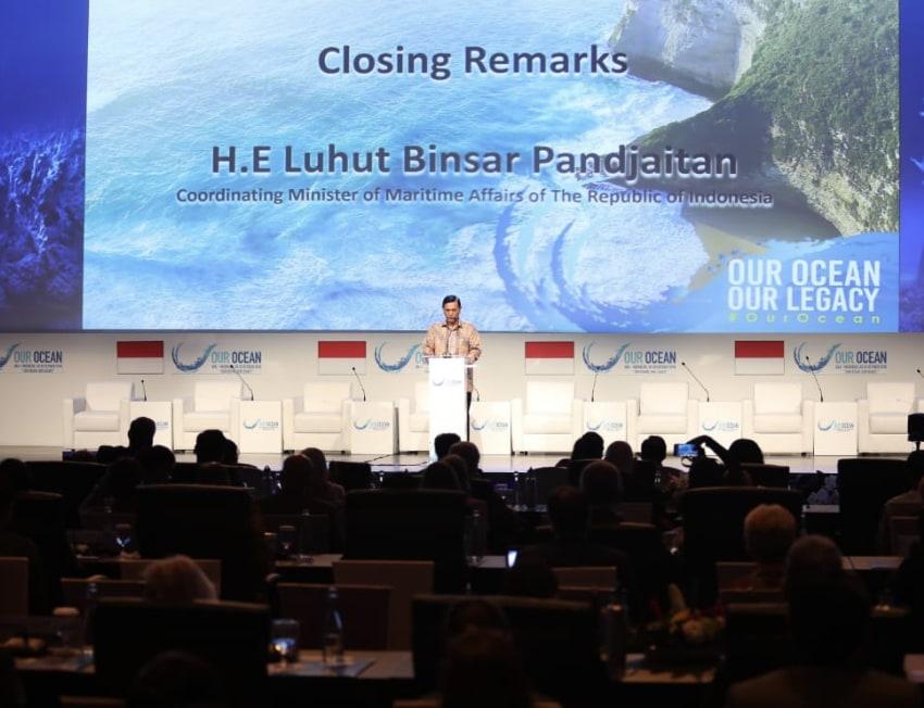 Menko Luhut: Penduduk Dunia Harus Bekerja Sama Merawat Laut