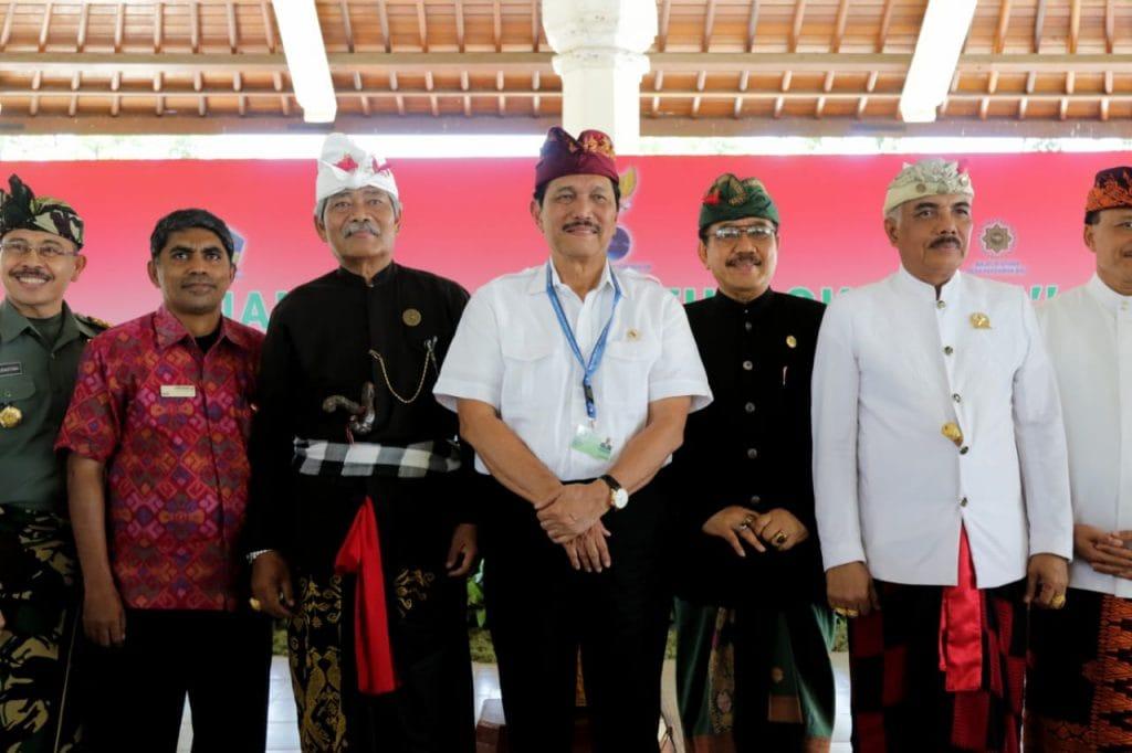 Deklarasi Sakenan, Menko Luhut Bahas Sampah hingga Destinasi Wisata Terbaik Bali