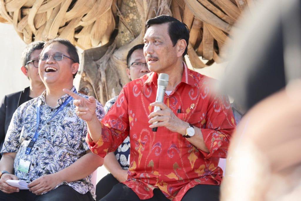AM IMF-WB 2018 Sukses Diselenggarakan, Menko Luhut: Indonesia Naikkan Standar Baru Dunia