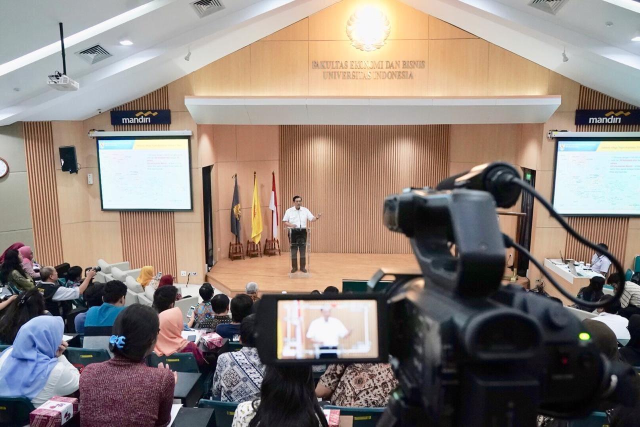 Menko Bidang Kemaritiman Menjadi Opening Speech Dalam Acara Seruni UI