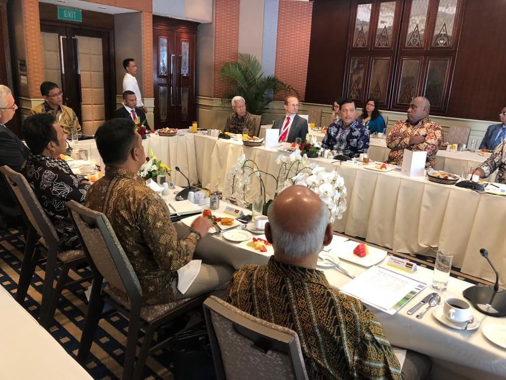 Menko Luhut Ajak Negara-Negara Kepulauan Bersatu Hadapi Perubahan Iklim