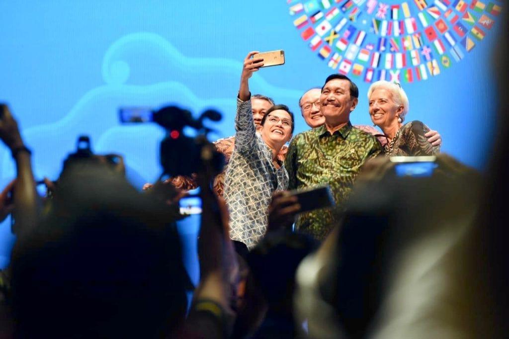 Menko Luhut menghadiri Perpisahan dengan MTS- IMF WBG 2018