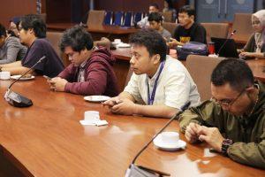 Menko Luhut Coffee Morning dengan Media di Kantor Maritim