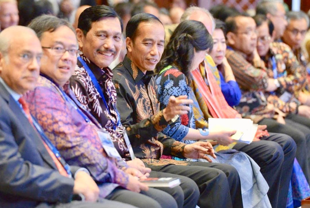 Menko Luhut menghadiri President Special Adress at THK Forum