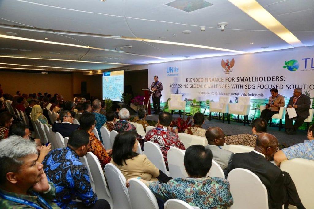 Menko Luhut menjadi Keynote Speech Joint Seminar with UN Environment TLFF