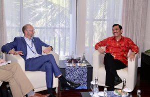 Menko Luhut Pertemuan Bilateral dengan Denmark State Secretary for Development Policy