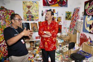 Menko Luhut ajak Istri Hingga Cucu ke Museum Art Bali