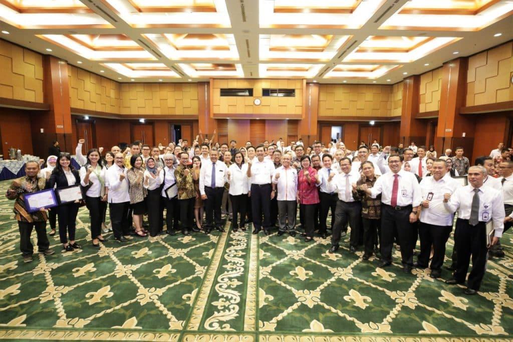 Menko Luhut Menghadiri Rapat Pembubaran Pannas Penyelenggara Rangkaian Pertemuan Tahunan IMF-WBG 2018