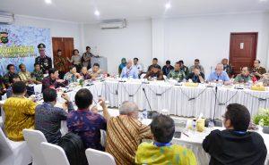 Menko Luhut Rapat Persiapan Kegiatan Presiden dalam rangka AM IMF-WBG