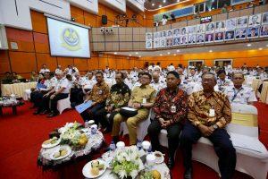 Kemenko Maritim Menghadiri Rapat Kerja Kementerian Perhubungan Tahun 2018