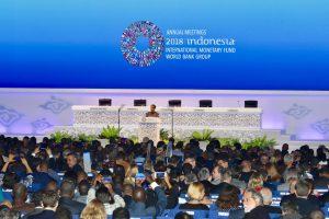 Menko Luhut menghadiri Annual Meeting Plenary IMF-WBG 2018