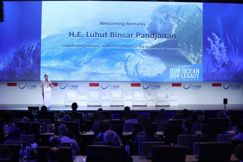 Menko Luhut sampaikan Opening Remarks pada acara Our Ocean Conference hari ke-2