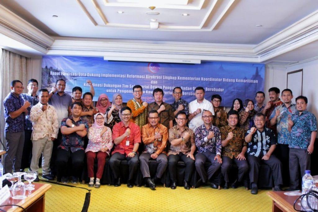 Kemenko Bidang Kemaritiman lakukan Evaluasi Terkait Implementasi Reformasi Birokrasi