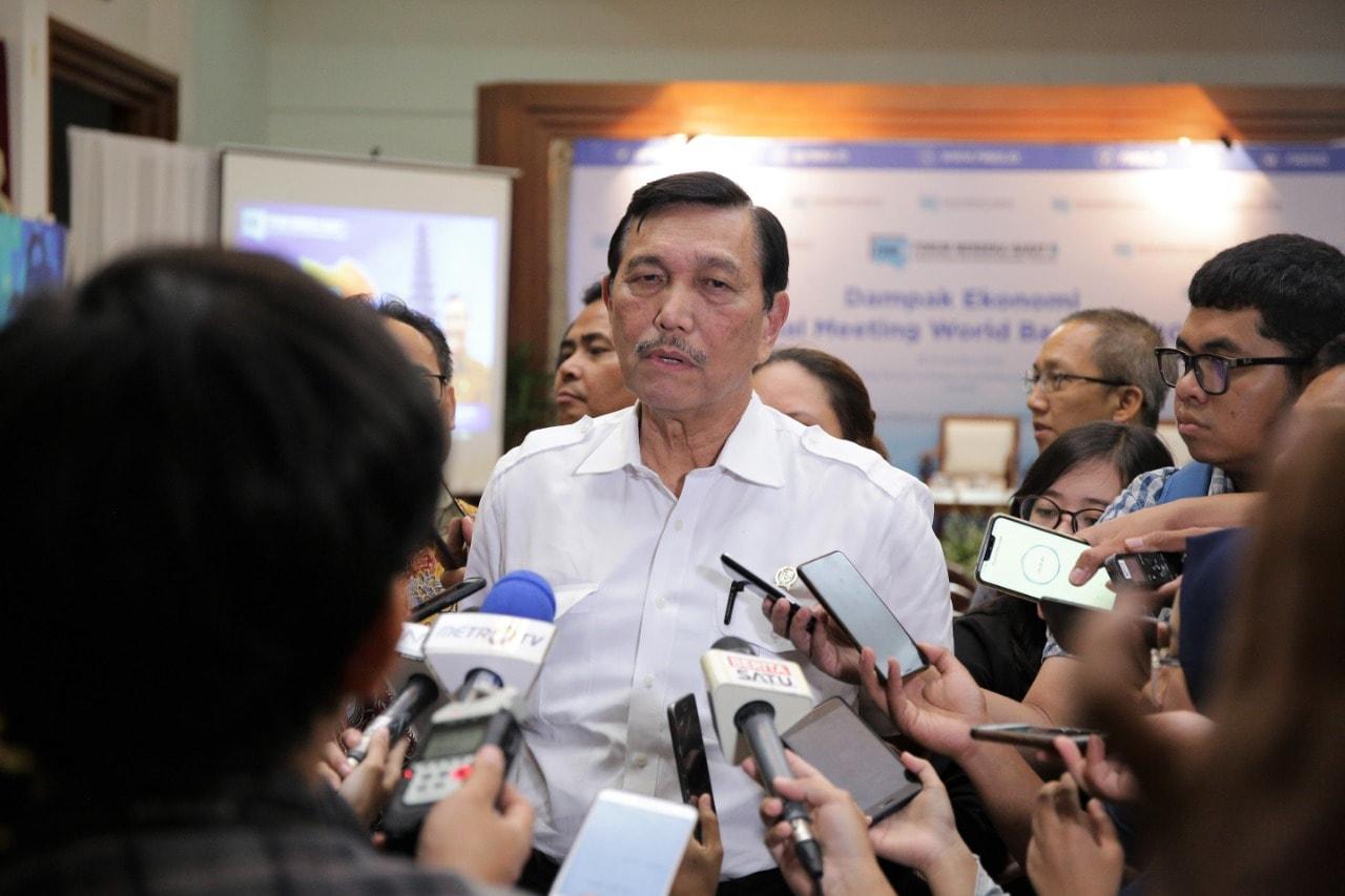 Bali Untung 5.4 Triliun Rupiah dari Mega Even IMF-WBG, Menko Luhut:Trust Investor Juga Makin Besar