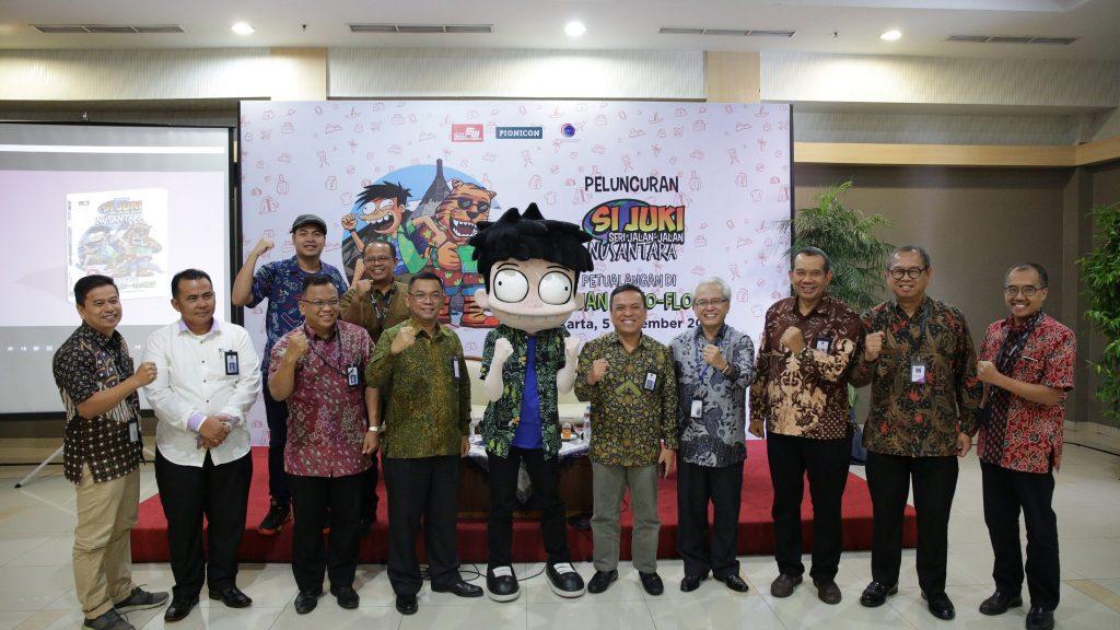 Peluncuran Komik Literasi Kemaritiman Si Juki Edisi Keliling Nusantara Labuan Bajo-Flores