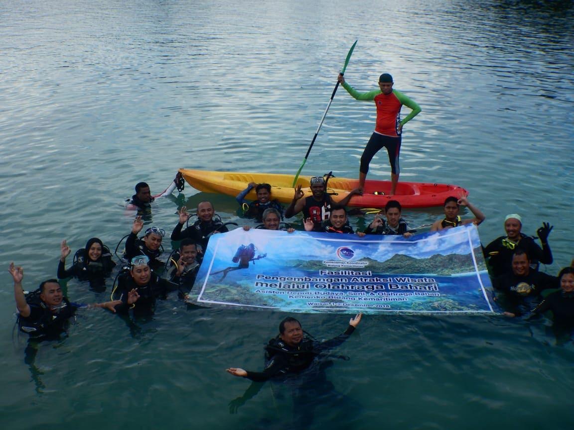 Indonesia Surga Olahraga Bahari
