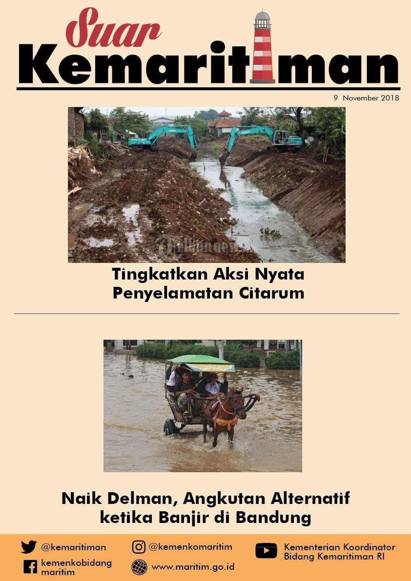 Suar Kemaritiman Edisi 9 November 2018
