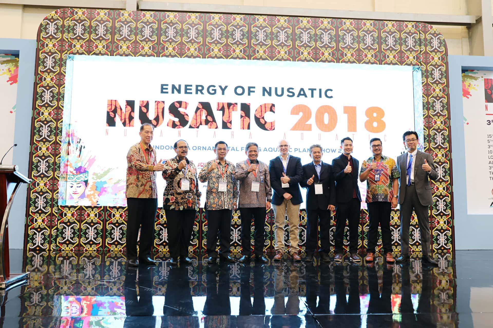 Nusatic 2018, Untuk Mewujudkan Indonesia Menjadi Eksportir Ikan Hias Terbesar di Dunia