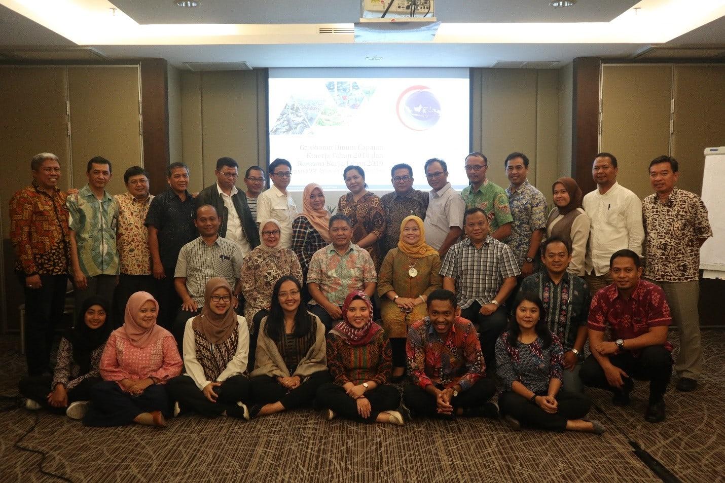Sambut Tahun 2019, Deputi Bidang Koordinasi SDM, IPTEK dan Budaya Maritim Adakan Rapat Kerja