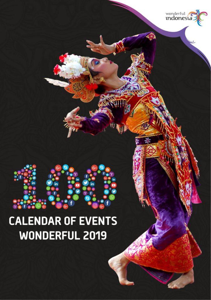 SIAP SAMBUT 20 JUTA KUNJUNGAN WISMAN, KEMENPAR PROMOSIKAN 100 CALENDAR OF EVENTS (CoE) WONDERFUL 2019