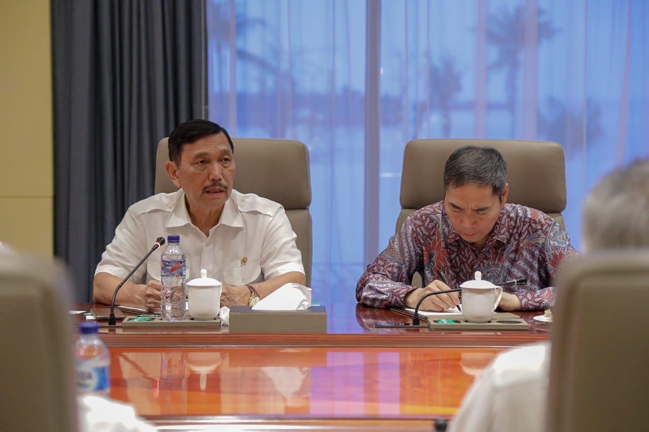 Menko Maritim : Investor Harus gandeng Partner Lokal, Pemerintah Dorong Pengembangan Kawasan Bisnis Morowali