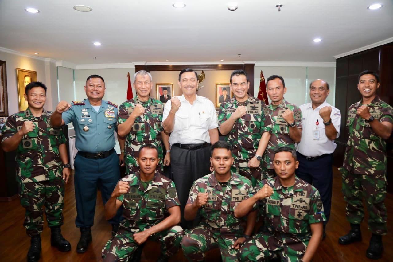 Menko Luhut Apresiasi Tim Pencari Yang Menemukan CVR Lion Air JT-610