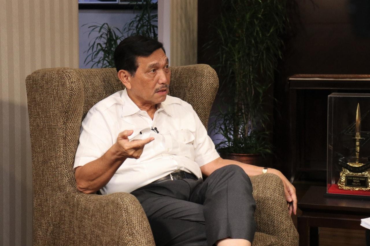 Menko Luhut Wawancara Eksklusif dengan Jawa Pos TV