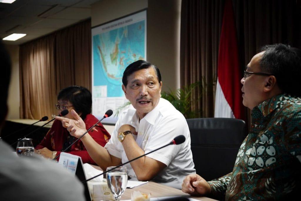 Menko Luhut Pimpin Rakor Pembahasan Persiapan Launching Gerakan Indonesia Bersih