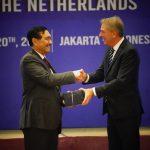 Menko Luhut menjadi Keynote Speaker Dalam Forum Bilateral Maritim (BMF) RI-Belanda