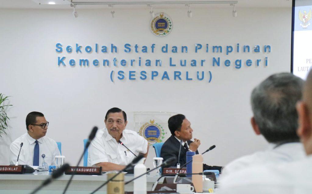 Diklat Sekolah Staf dan Pimpinan Kementerian Luar Negeri (SESPARLU) Angkatan ke-61 Membahas Current Strategic Policy on Maritime