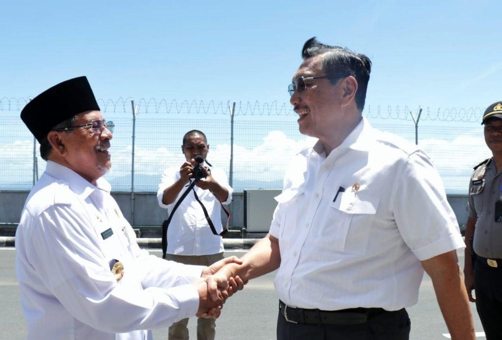 """Menko Luhut kunjungi Ternate; """"Pemerintah tidak mau pembangunan yang bersifat Jawa Sentris"""""""