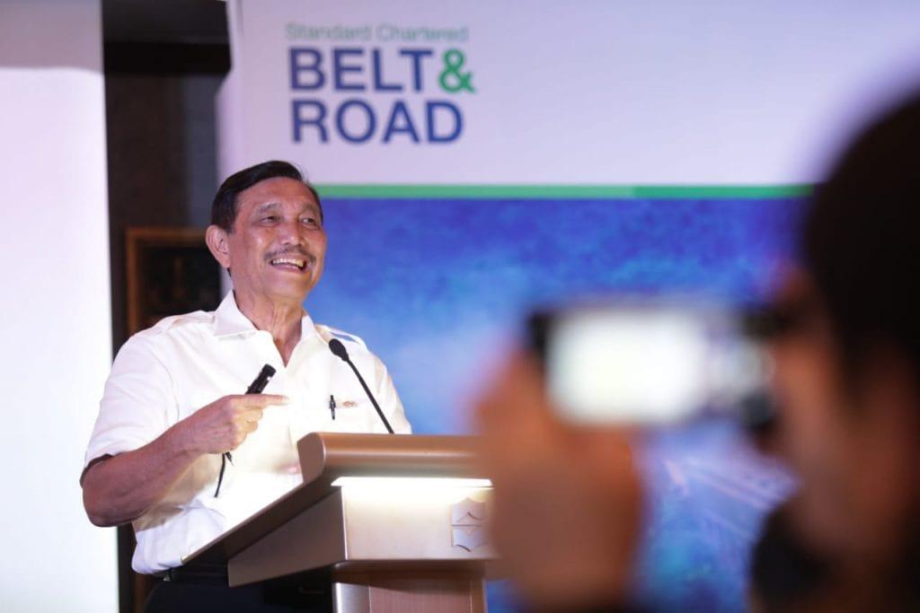 Keynote Speech Menko Luhut in Belt & Road Seminar Standard Chartered