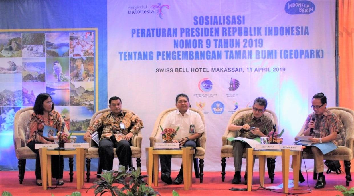 Kemenko Kemaritiman Bersinergi Dengan K/L dalam Peningkatan Perekonomian Masyarakat melalui Geopark