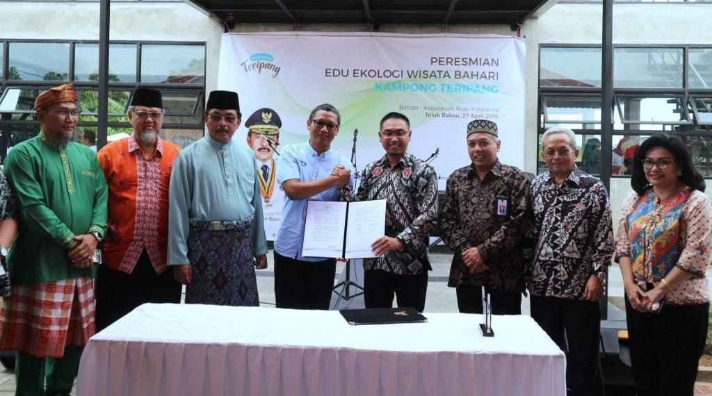 Inovasi Produk dan Jasa Bahari di Kampong Edu Ekologi Teripang Mas Kepulauan Riau