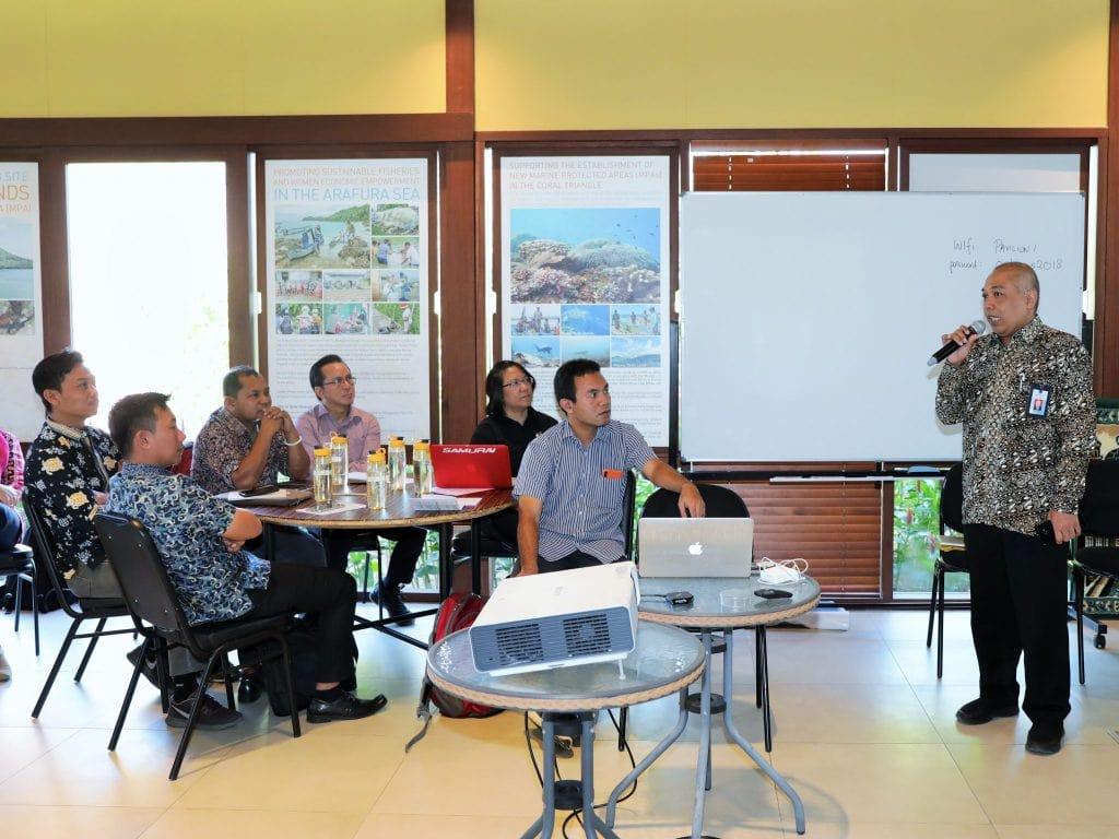 Kemenko Maritim Inisiasi Sertifikasi Kompetensi Pengelola dan Perencana Kawasan Konservasi