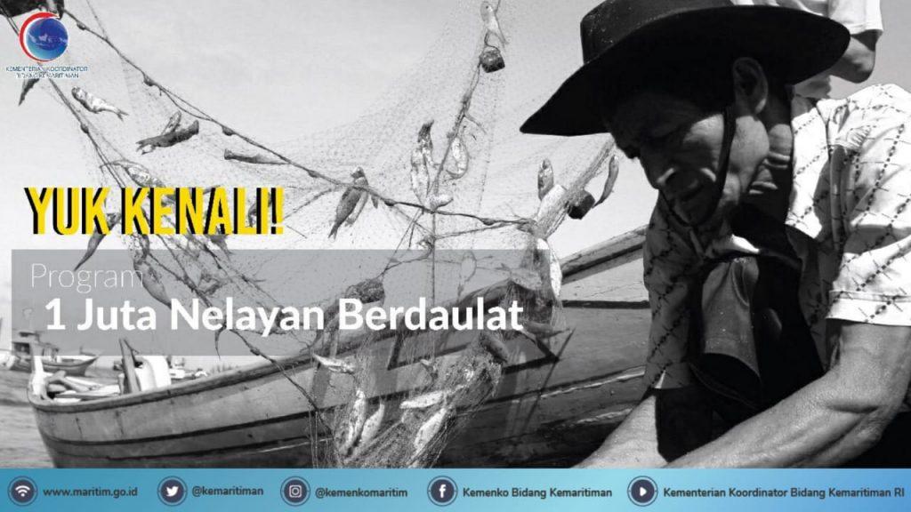 Pemerintah Luncurkan Proyek Percontohan Program Satu Juta Nelayan Berbasis Teknologi Digital di Sukabumi
